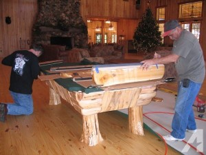 pool table install utah